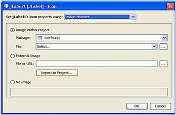 Select images file import 17