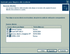 Windows XP. Caso pr&aacute;ctico 4