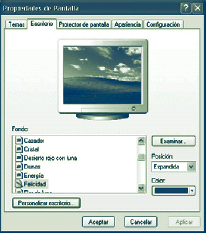 Windows XP. Personalizar el escritorio (primera parte)