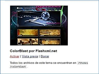 Colorbast. Tema de wordpress