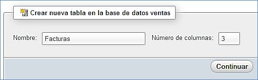 4 Tablas dentro de base de datos