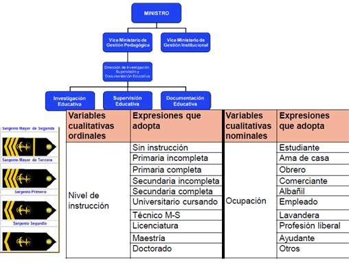 variables cualitativas