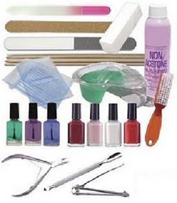 materiales y productos de manicura