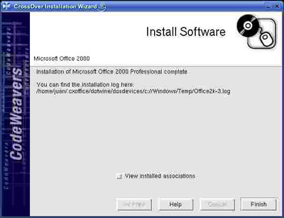Como utilizar Cross Over Office para instalar programas como MS Office II