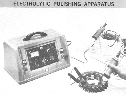 Electrolytic Polishing Apparatus Ellopol