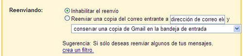Usar Gmail desde Outlook