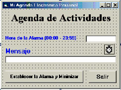 Ejercicio 6: Alarma