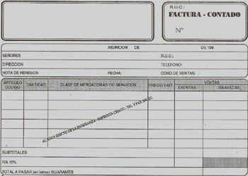 Formato de los documentos (1/2)